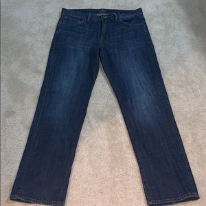 Men's straight leg Lucky jeans